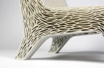 """""""Biomimicry: 3D Printed Soft Seat"""" (Video by dezeen.com / Foto by http://lilianvandaal.com/)"""