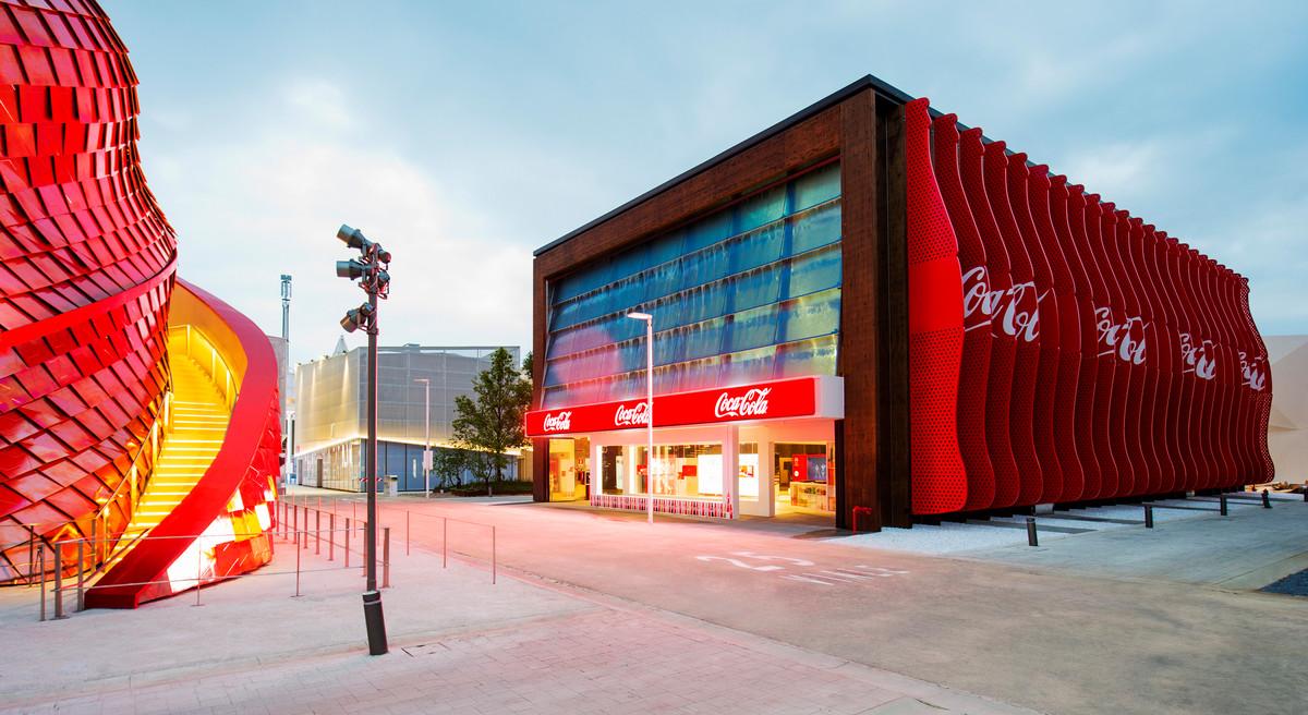 Pavillon von Coca Cola auf der Expo 2015
